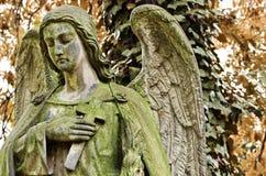 Angel autumn Stock Image