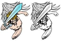 Angel Avenger Set stock illustration