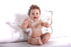 Angel baby Stock Images
