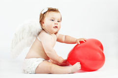 Angel baby Royalty Free Stock Image