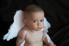 Angel Baby Stock Photos