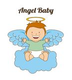 Angel Baby illustration stock