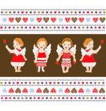 Angel background Royalty Free Stock Image