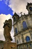 Angel and Basilic of Sameiro Braga Stock Images