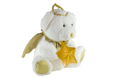 Angel bear toy. stock image