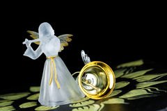 Angel Bell Royalty Free Stock Photo