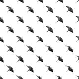 Angel birds wing pattern, simple style Stock Photography