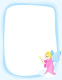 Angel border frame Stock Images