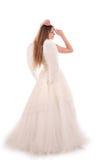 Angel bride Stock Photo