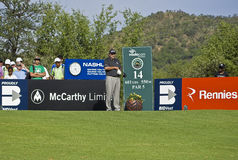 Angel Cabrera - 14th Tee Stock Image