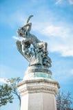 Angel Caido in Retiro Graden Royalty-vrije Stock Afbeeldingen