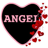 Angel Candy Heart Royalty Free Stock Photo