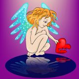 Angel Cartoon Stockbilder