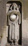 Angel on cemetery Stock Image