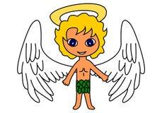 Angel character Stock Photos