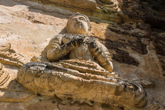 Angel in Chedi , wat Ched yod in Chiangmai Stock Photo