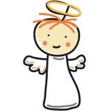 Angel Child Stock Photo