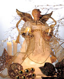 An angel Christmas decoration Stock Image