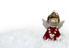 Angel. Christmas Angel decoration, toy Angel Royalty Free Stock Photos