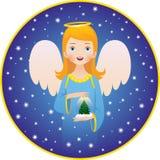 Angel Christmas holidays Royalty Free Stock Image