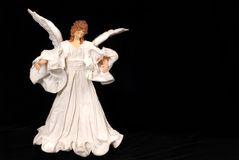 Angel Christmas tree ornament Stock Photos