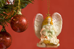 Angel Christmas Tree Ornament Stockbild