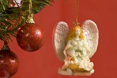 Angel Christmas Tree Ornament Stock Image
