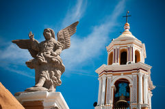 Angel. In the church of Cholula Royalty Free Stock Images