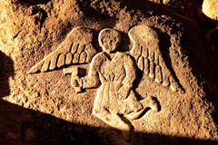 Angel, City of Cuzco in Peru, South America Royalty Free Stock Images