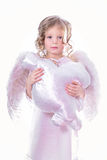 Angel with cloud Stock Photography