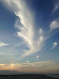 Angel clouds. Royalty Free Stock Photos
