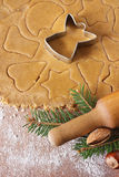 Angel cookies. Stock Images