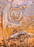 Angel in copper Stock Photo