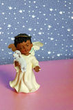 Angel with Copy Space Royalty Free Stock Photo