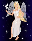 Angel Costume Stock Photo