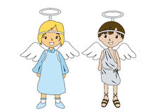 Angel Costumes Stock Images