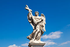 Angel with Cross Stock Image
