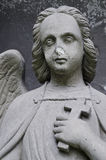 Angel with cross Royalty Free Stock Photo