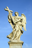 The Angel with the Cross Royalty Free Stock Photography
