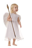 Angel with Cupid arrow Royalty Free Stock Photography