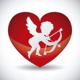 Angel cupid Stock Photography