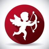 Angel cupid vector illustration