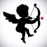 Angel cupid Stock Photo