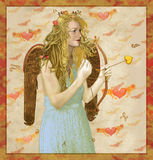 Angel Cupid I Love You Royalty Free Stock Photo