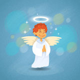 Angel Cupid Saint Valentine Holiday do Valentim ilustração royalty free