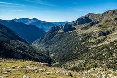 Angel de Orus refuge. View in summer, Spain Stock Images