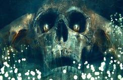 Angel Of Death Artwork Background artístico abstracto stock de ilustración