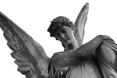 Angel of death Royalty Free Stock Image