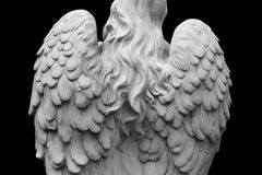 Angel of death. As a symbol of the end of life royalty free stock photo