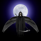 Angel of death Stock Photo